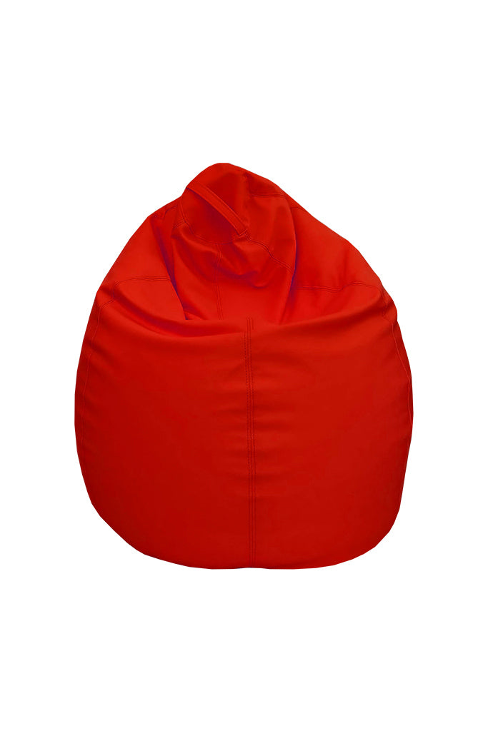 Trend Art Leather Bean Bag Red