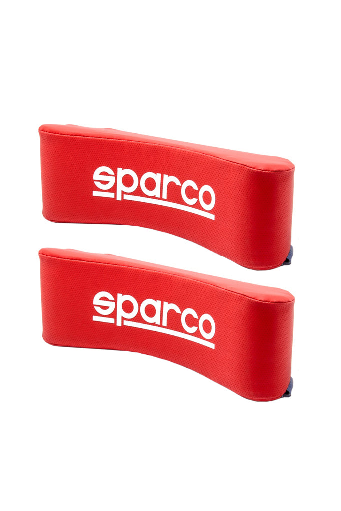 Sparco Neck Pillow Red (Set of 2)