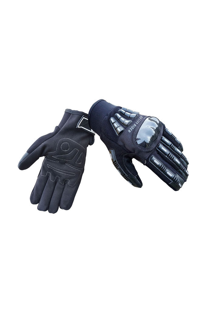 Biking Brotherhood Riding Gloves Black