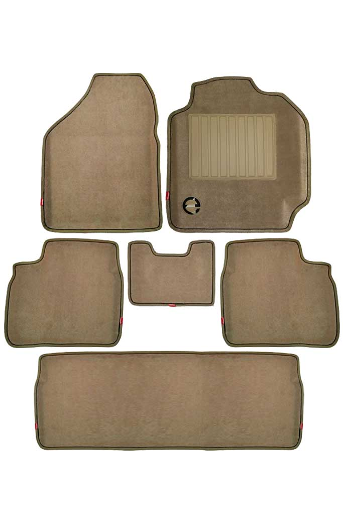 Royal 3D Car Floor Mat Beige (Set of 6)