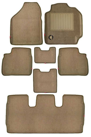 Royal 3D Car Floor Mat Beige (Set of 7)