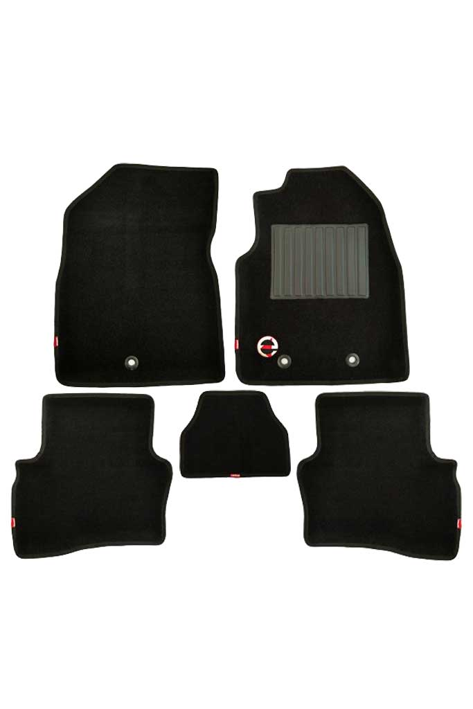 Royal 3D Car Floor Mat Black (Set of 5)