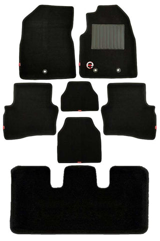 Royal 3D Car Floor Mat Black (Set of 7)