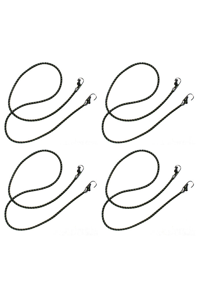 Bungee Cargo Rope Black (Set of 4)