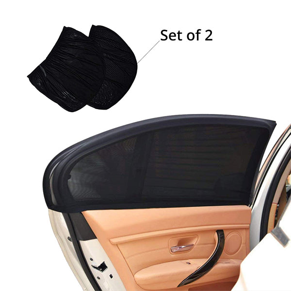 Car Window Slip On Sunshade (Set of 2)