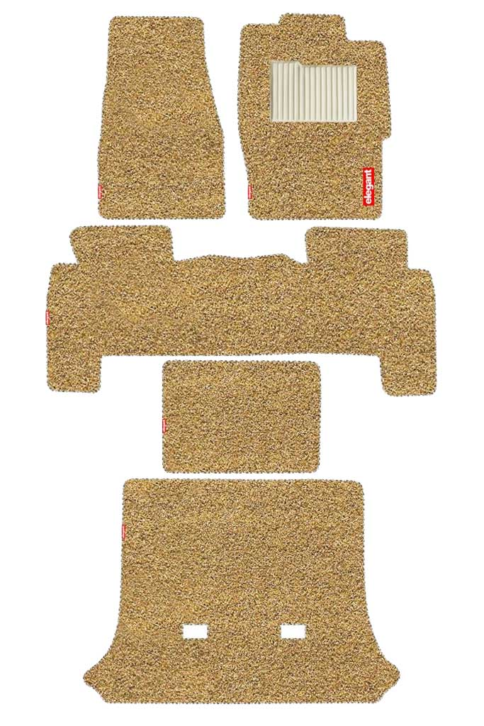 Spike Car Floor Mat Beige (Set of 5)