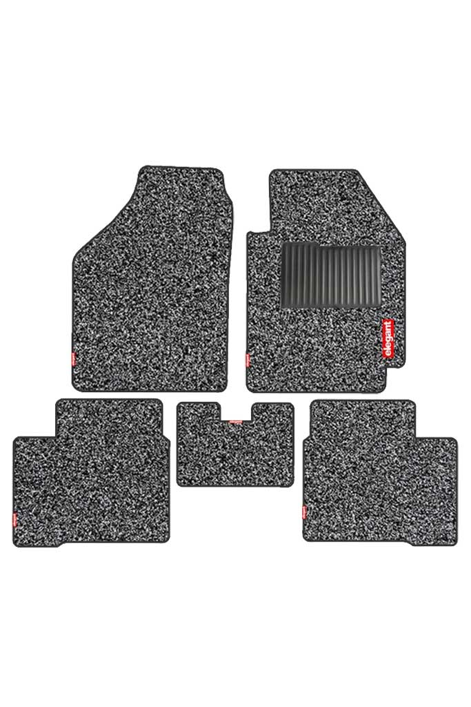 Spike Car Floor Mat Black (Set of 5)
