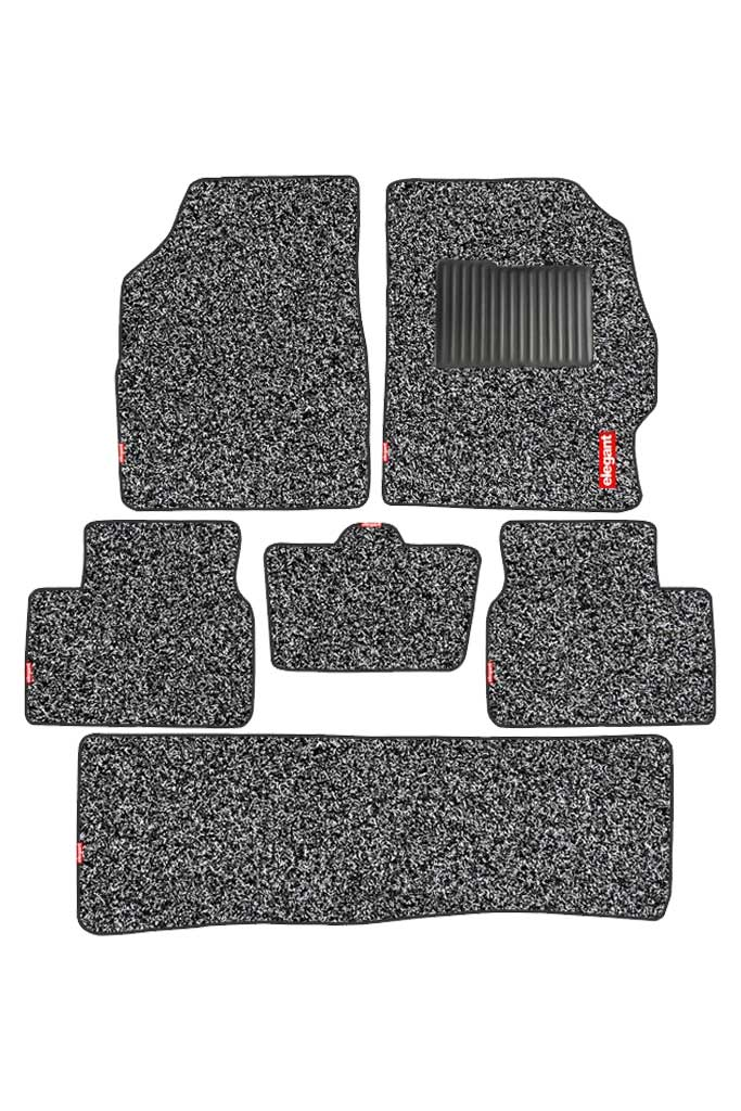 Spike Car Floor Mat Black (Set of 6)
