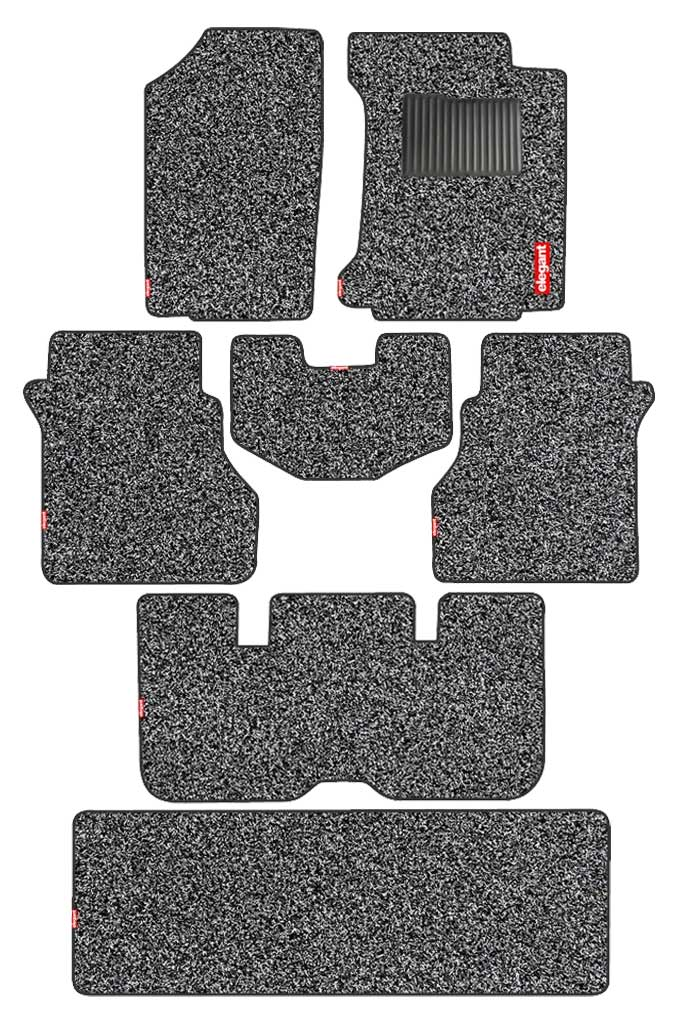 Spike Car Floor Mat Black (Set of 7)