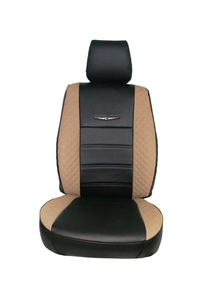 Trend Neo Winner Art Leather Car Seat Cover Black and Beige
