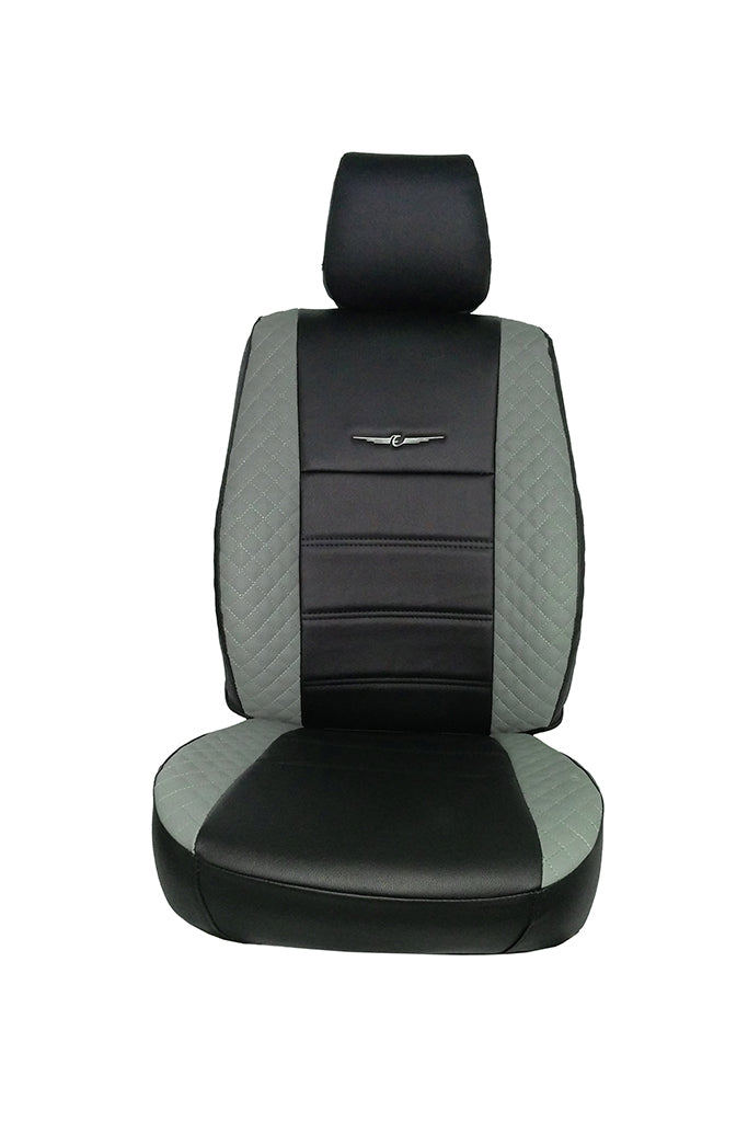 Trend Neo Winner Art Leather Car Seat Cover Black and iGrey
