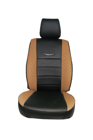 Trend Neo Winner Art Leather Car Seat Cover Black and Tan