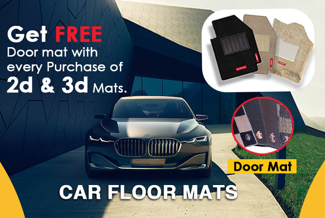 Ford Street Ka Fully Tailored 2 Piece Black Car Mat Set with 2 Metal Clips