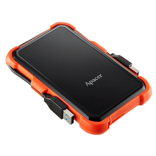 Apacer AC630 2TB USB 3.1 Military-Grade Shockproof External Hard Drive