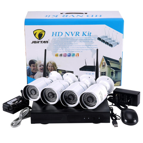 Wireless CCTV System with 4 Camera's