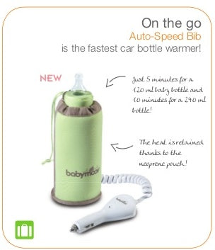 Babymoov - Car Bottle Warmer