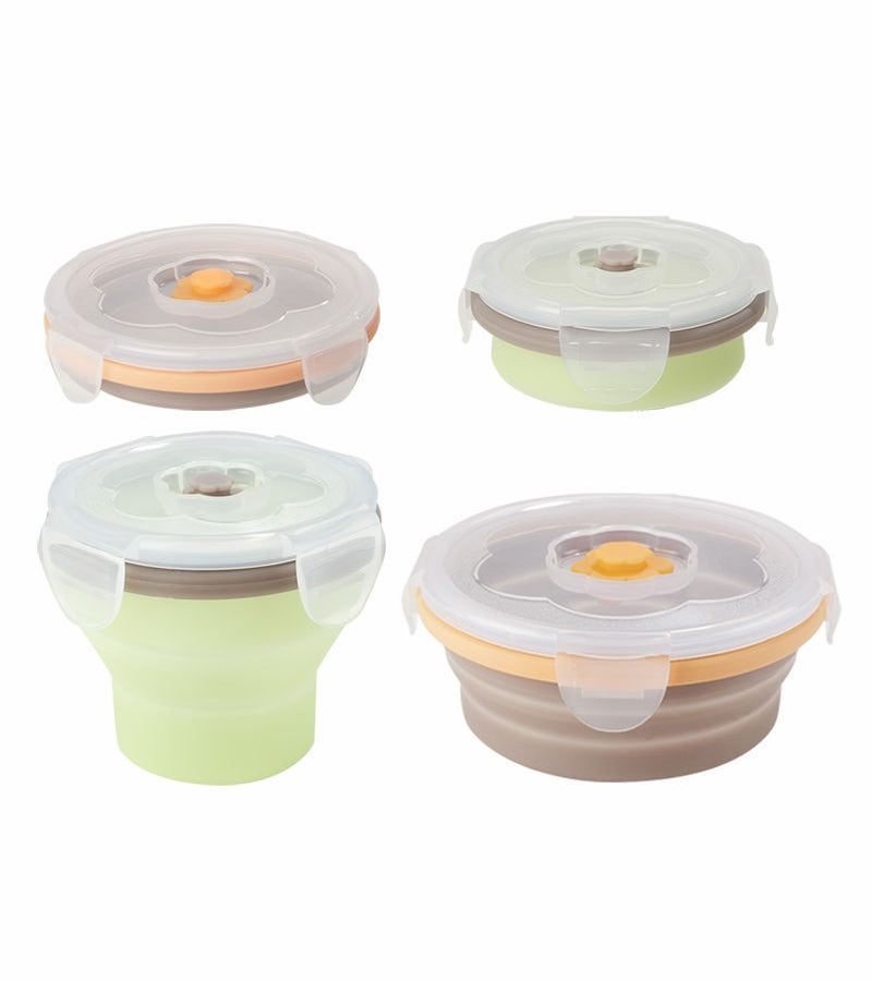 Babymoov - Silicon Bowl Set and 2 Containers
