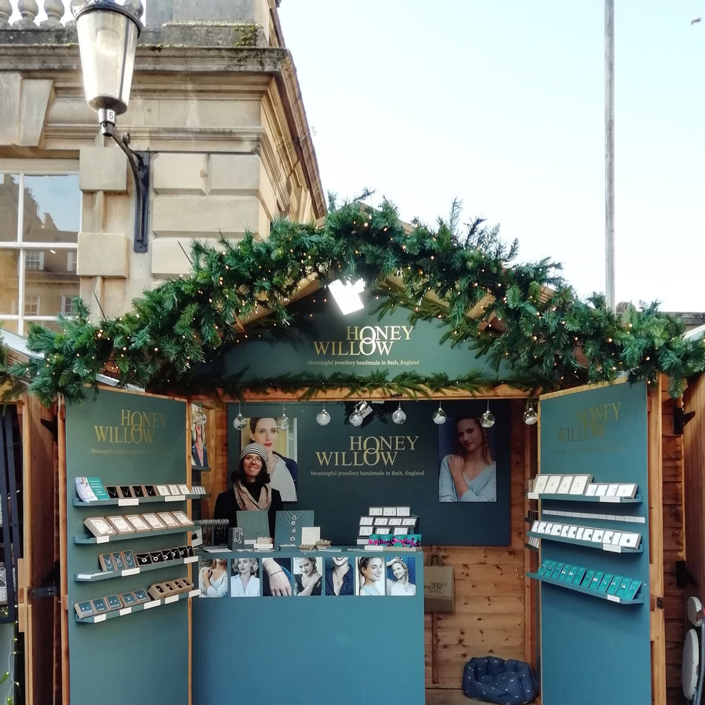 We're back at the Bath Christmas Market!
