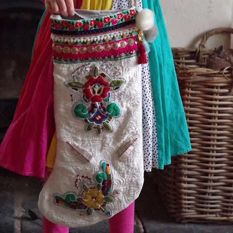 hand embroidered stockings folium lifestyle