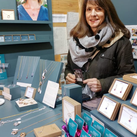 Bath Christmas Market - meet the maker Sandra