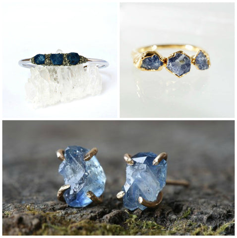 sapphire rings, sapphire jewelry, sapphire bling, engagement rings, September birthday gift ideas
