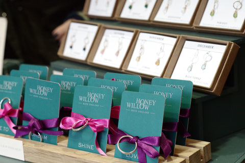 Honey Willow jewellery, Bath Christmas Market