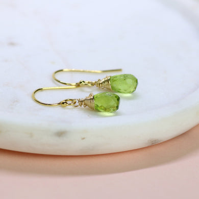 August birthstone earrings | Sophie