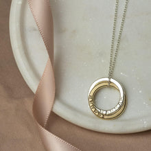 Load image into Gallery viewer, Personalised 9kt Gold Double Name Necklace