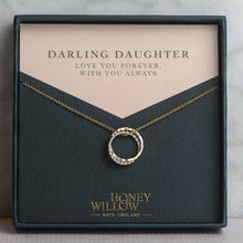 Load image into Gallery viewer, Mother Daughter Necklace for Daughter - Mixed Metal