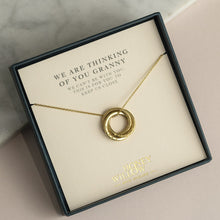 Load image into Gallery viewer, Meaningful Gift for Grandma - Family Necklace with Names