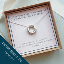 Load image into Gallery viewer, Personalized Names Jewelry | Family Necklace for Mom