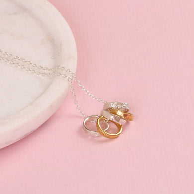 5 Rings Mothers Necklace | Amelie
