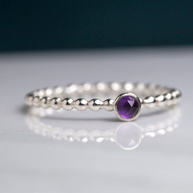 Tiny Birthstone Ring