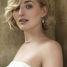 Load image into Gallery viewer, Bridal Back Drop Necklace | Annika