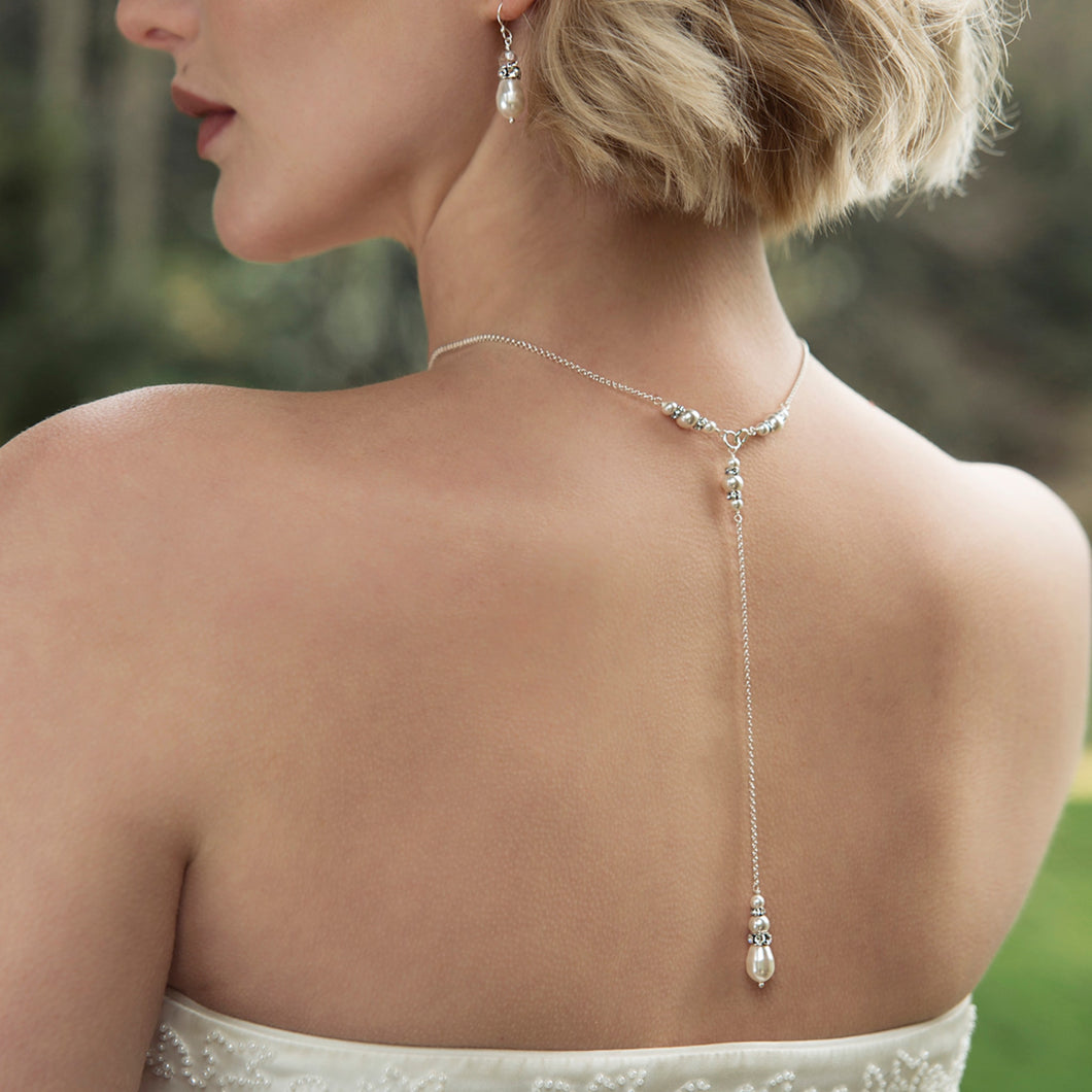 Bridal Back Drop Necklace | Annika