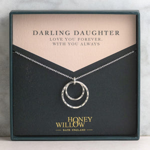 Mother Daughter Necklace for Daughter
