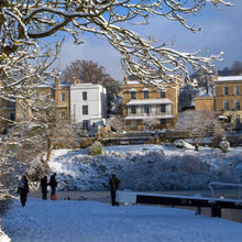 Load image into Gallery viewer, Bath in Winter Zuleika Henry
