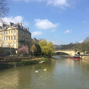 bath England meaningful gifts handmade in bath, river avon