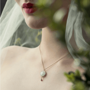 Moonstone bridal jewellery honey willow