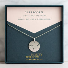 Load image into Gallery viewer, Capricorn Constellation Necklace