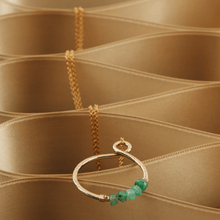 Load image into Gallery viewer, Infinity Birthstone Necklace