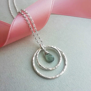Birthstone Necklace for Love One | Honey Willow