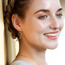 Load image into Gallery viewer, December birthstone earrings | Clare