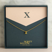 Load image into Gallery viewer, Dainty Initial Necklace