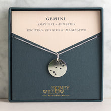 Load image into Gallery viewer, Gemini Constellation Necklace