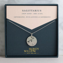 Load image into Gallery viewer, Sagittarius Constellation Necklace