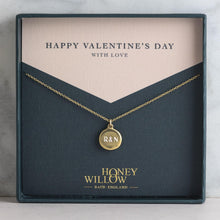 Load image into Gallery viewer, Personalised Engraved Initials Necklace