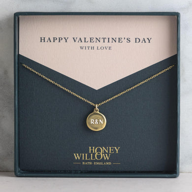Personalised Valentine's Necklace