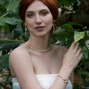 Statement bridal jewellery