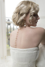 Load image into Gallery viewer, Long crystal bridal earrings | Alicia